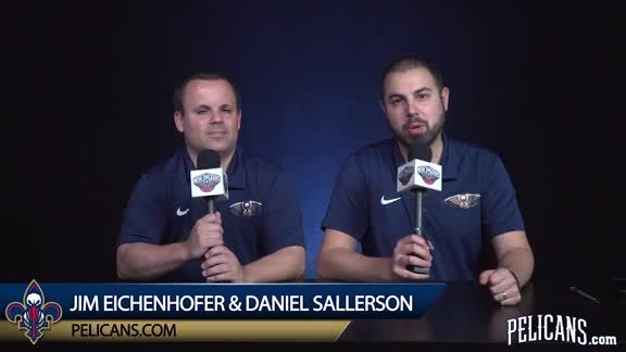 Pelicans Playoff Practice Report 4-24-18