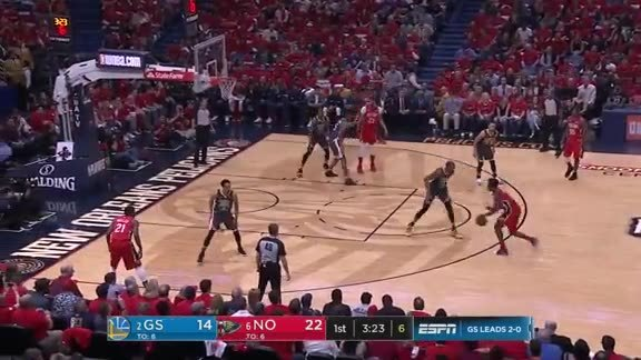HIGHLIGHTS: New Orleans Pelicans vs. Golden State Warriors