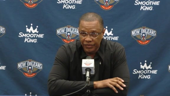 Pelicans End of the Season Press Conference Opening Statement: Head Coach Alvin Gentry