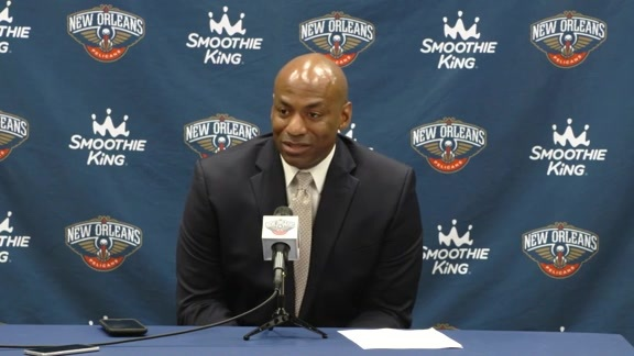 Pelicans End of Season Press Conference Q&A: Dell Demps