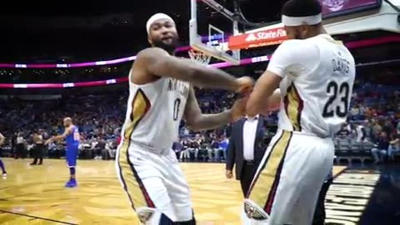 DeMarcus Cousins top plays of 2017-18 Season
