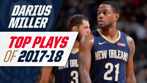 Darius Miller's top plays of the 2017-18 Season