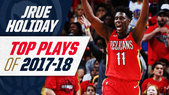Jrue Holiday's Top Plays of 2017-18 Season