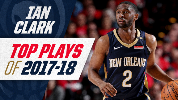 Ian Clark's top plays of the 2017-18 Season