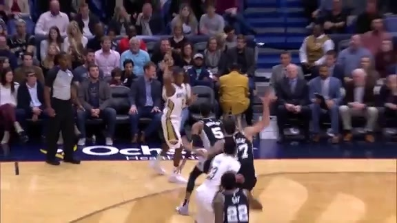 Pelicans Top Assists in 2017-18