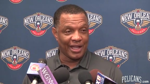 Alvin Gentry, 'I love the city, I love our fans, I love our team'