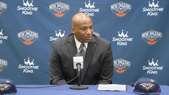 2018 NBA Draft Press Conference: Dell Demps