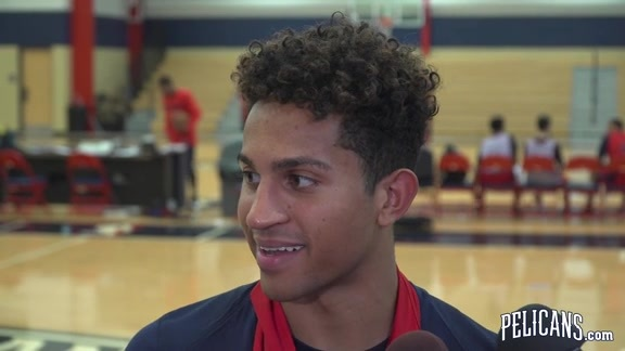 Summer League 2018 Practice Day 1: Frank Jackson 07-02-18