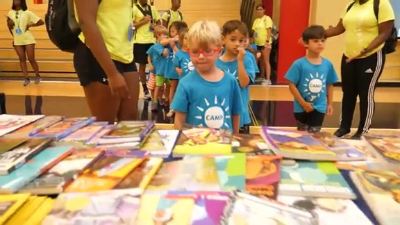 New Orleans Pelicans, Shell host Reading Rally for YMCA