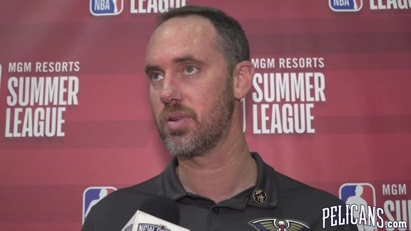 Pelicans-Heat Postgame with coach Kevin Hanson