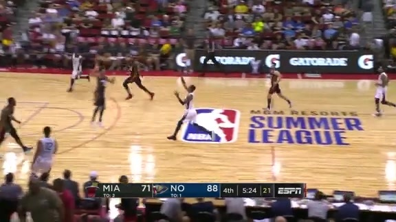 New Orleans Pelicans Summer League Highlights 2018
