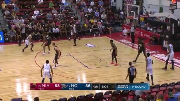 2018 Pelicans Summer League Highlights: Garlon Green
