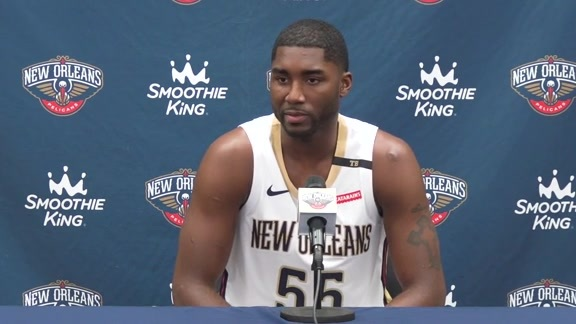 2018 Pelicans Media Day: E'Twaun Moore