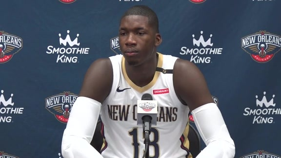 2018 Pelicans Media Day: Cheick Diallo