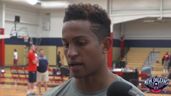 Pelicans Training Camp Practice: Frank Jackson 9-25-18