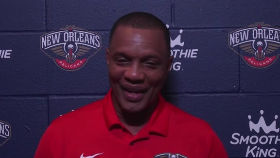Pelicans vs. Raptors Pregame: Head Coach Alvin Gentry 10-11-18