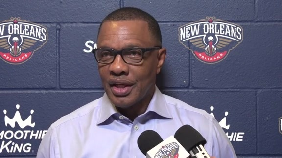 Pelicans vs. Raptors Postgame: Head Coach Alvin Gentry 10-11-18