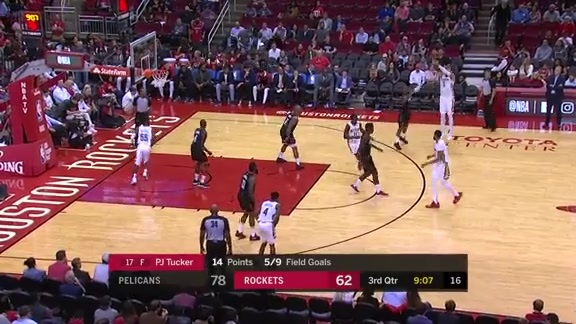 Nikola Mirotic drains 30 points against the Houston Rockets