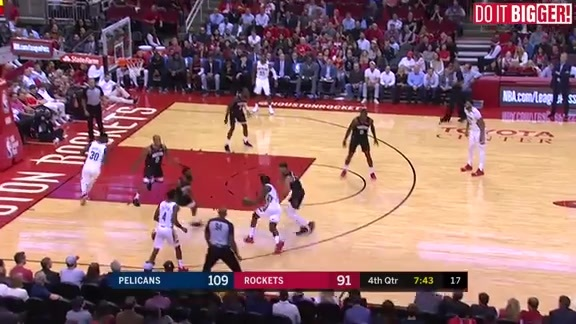 New Orleans Pelicans vs. Houston Rockets Highlights
