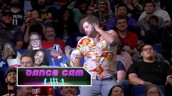 Pelicans Dance Cam: October 23 vs. Clippers