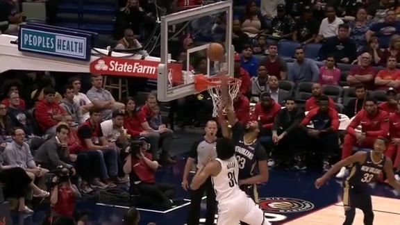 AD sends it to the bleachers
