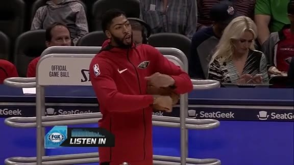 Pelicans Mic'd Up: Anthony Davis against the Brooklyn Nets