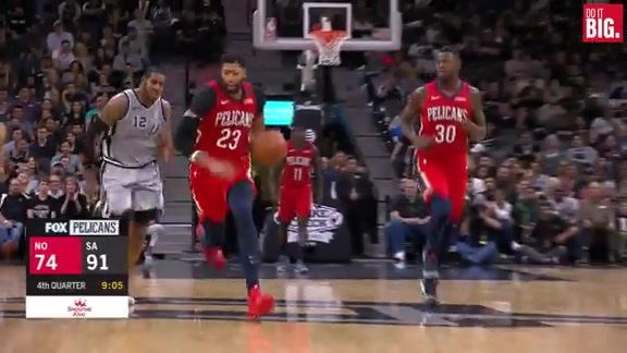 AD with the steal and bucket