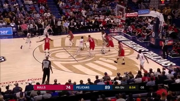 New Orleans Pelicans vs. Chicago Bulls Highlights
