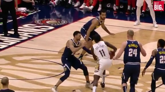 Jrue euro-steps for another And-1