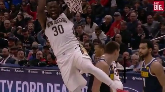 Julius Randle cleans up forcefully