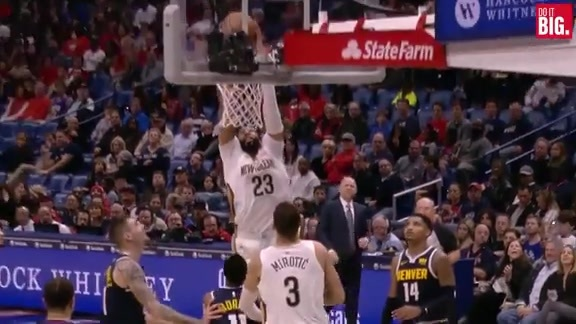 Anthony Davis finishes what he started
