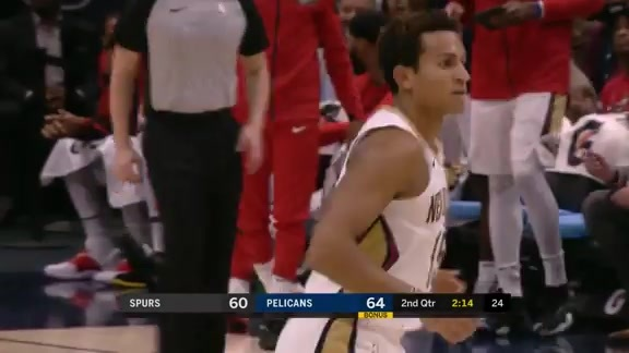 Frank Jackson turns on the jets