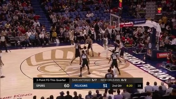 Julius Randle finishes with a triple-double against San Antonio