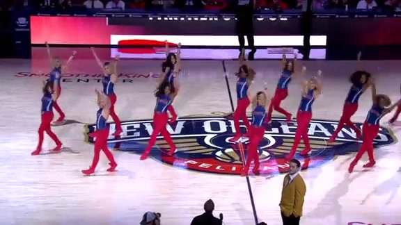 Pelicans Dance Team Second Half Performance 11-28-18