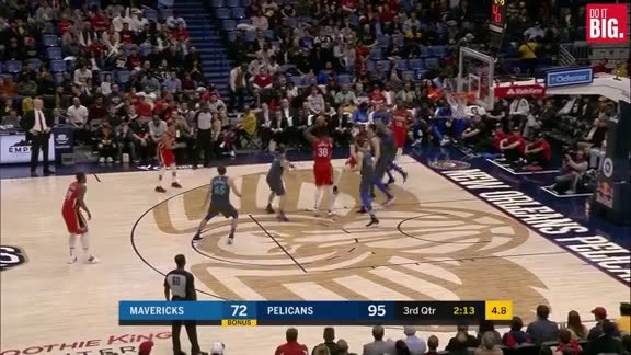 Tim Frazier with the floater