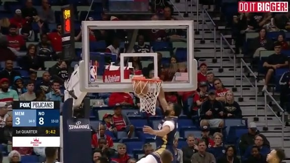 New Orleans Pelicans Highlights vs. Memphis Grizzlies
