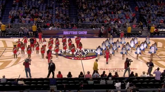 Pelicans Junior Dance Team Performance Part Two 12-07-18