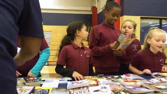 Pelicans host Shell Reading Rally with Mildred S. Harris and Phoebe Hearst Elementary