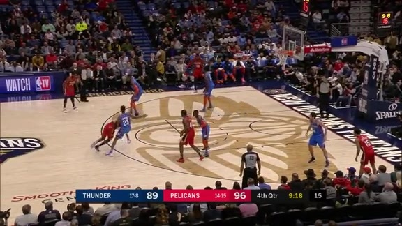 Jrue Holiday puts the defense in the spin cycle
