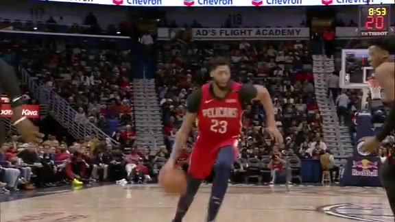 Anthony Davis Drive and Finish