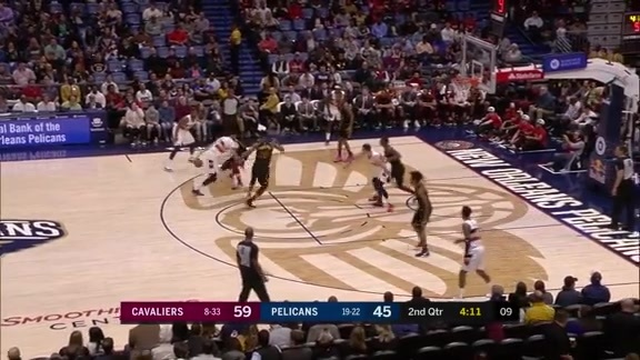 Davis slices through defenders with sneaky between the legs drive