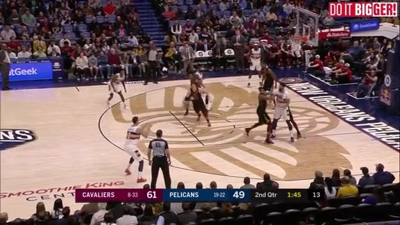 New Orleans Pelicans vs. Cleveland Cavaliers Highlights 01-09-19