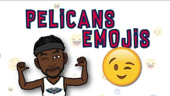 Which emoji's match your Pelicans?