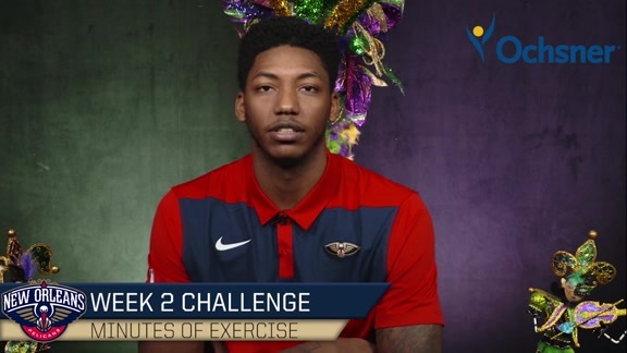 Ochsner Mardi Gras Fit Challenge Week 2: Track Your Minutes of Exercise