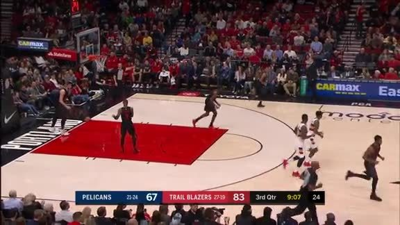 Jrue Holiday rips the mid-range jumper
