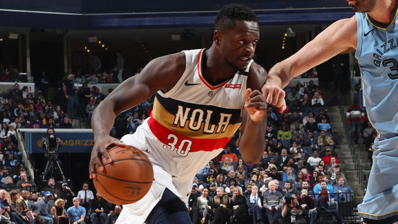 Stat Leader Highlights: Julius Randle adds 20 against the Grizzlies