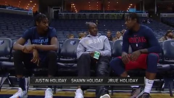 Pelicans at Grizzlies: In-Game Interview with Shawn Holiday