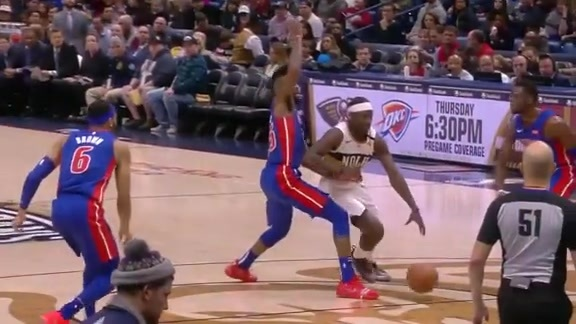 Jrue Holiday leads the Pelicans with 29 points