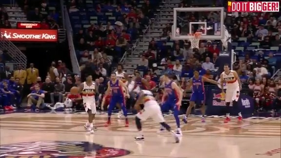 New Orleans Pelicans Highlights vs. Detroit Pistons 01-23-19