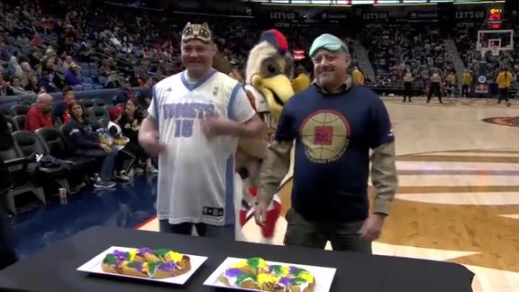 Pierre's King Cake eating contest 01-30-19